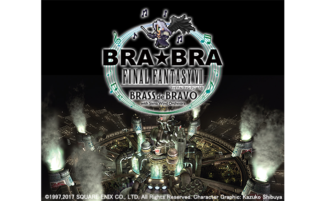 BRA★BRA FINAL FANTASY VII BRASS de BRAVO
