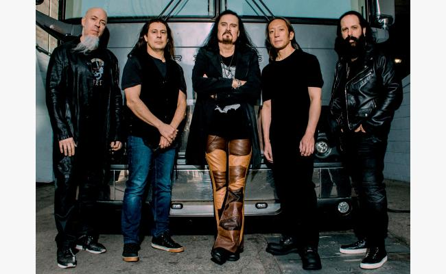 DREAM THEATER THE DISTANCE OVER TIME TOUR 2020